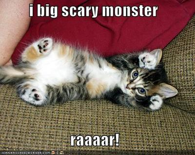 I Big Scary Monster - Raaaar!